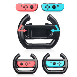 OIVO Anti-Slip A Pair Steering Wheel Gamepad Joy con Grip Racing Game Controller Protective Handle Holder for Nintend Switch