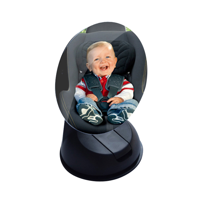 Car Safety  Back Seat Mirror Easy View Baby 360 Adjustable Wide Angle Rearview Mirror Interior Accessories Supplies Products