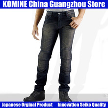 KOMINE Japanese Original Anti-fall Jeans Motorcycle Jeans Outdoor Pants  Riding Knee Pads Jeans Motorcycle Protection for Harley new motorcycle riding jeans locomotive riding anti fall jeans protective gear riding men and women jeans motorcycle pants