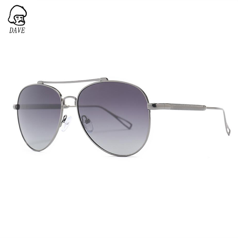 DAVE High-Quality Polarized Sunglasses Men Brand Design Fishing Driving Goggle Sun Male Glasses Pilot Outdoor Eyewear With Case