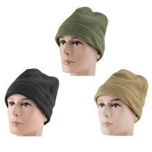 Outdoor Fleece Hat Winter Camping Hiking Caps Warm Windproof Fishing Cycling Cap