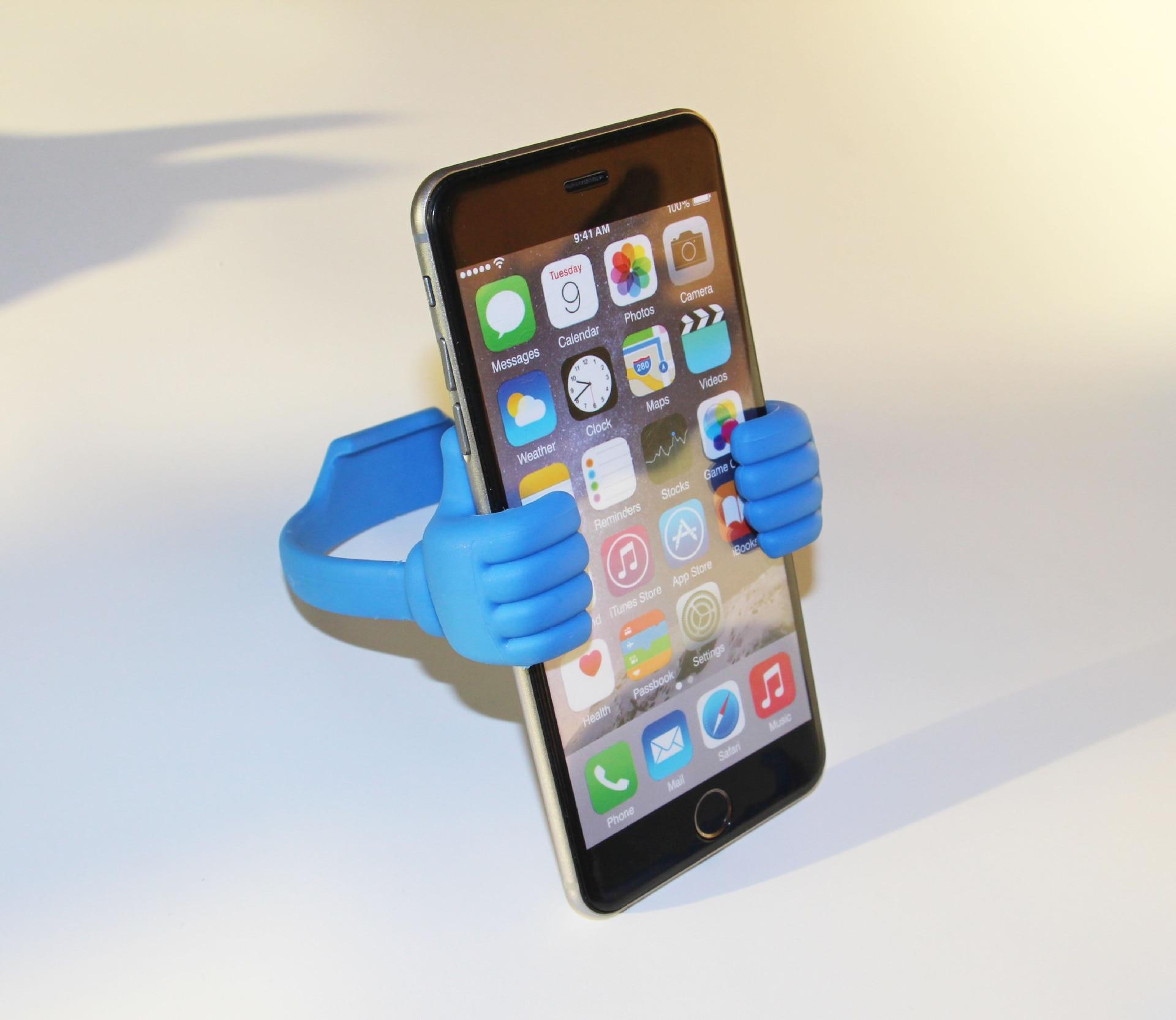 Lazy Mobile Phone Holder Bed Thumb Cell Smartphone Tablet - Ανταλλακτικά και αξεσουάρ κινητών τηλεφώνων - Φωτογραφία 5