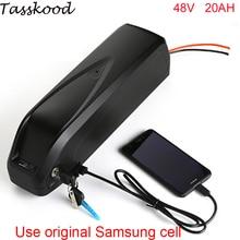 Электрический велосипед батарея 48 В в 20ah 1000 Вт ebike батарея для В 48 в 1000 Вт 750 Вт bafang 8fun двигатель с USB портом + зарядное устройство для samsung cell