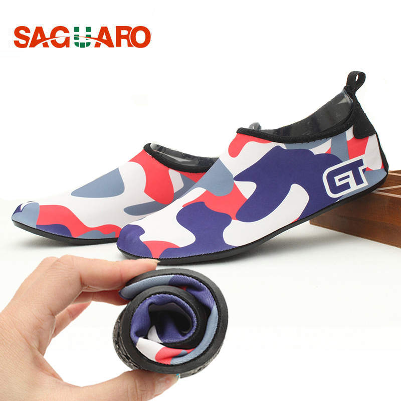 SAGUARO Summer Children Swimming Shoes Breathable Quick Dry Fins Diving Socks New Boys Girls Beach Sneakers Aqua Water Schuhe