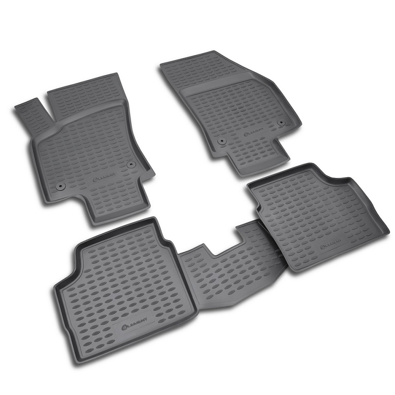 Mats in the salon For OPEL Astra H 2007-> сед... 4 PCs (polyurethane) mats in the salon for volvo xc70 2007 4 pcs polyurethane
