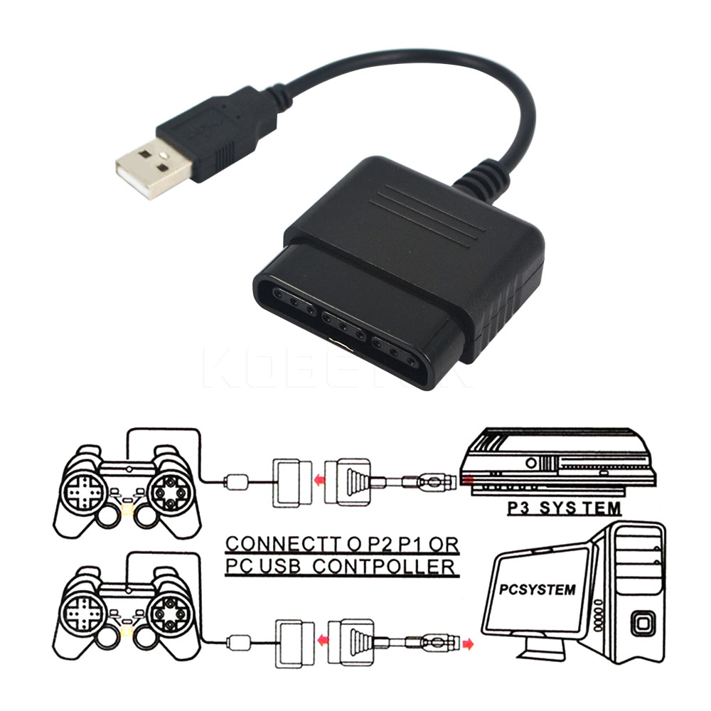 Kebidumei New Arrival Ps 2 To 3 Pc Game Controller Usb Gamepad. Kebidumei New Arrival Ps 2 To 3 Pc Game Controller Usb Gamepad Converter Adapter Without Driver High Qualityin Replacement Parts. Wiring. Usb Wireless Ps3 Controller Wiring Diagram At Scoala.co