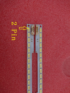 Image 1 - 2 قطعة (1 * اليسار + 1 * الحق) UA55D6600WJ LTJ550HW01 LTJ550HW03 H LTJ550HW04 H LED الخلفية شريط BN64 01664A 2011SVS55 100 المصابيح 680 مللي متر