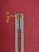 2 pièces LED bande de rétro éclairage Pour Samsung UA55D6600 UA55D6000 UN55D6000 UN55D6300 BN64 01664A LTJ550HW01 LTJ550HW03 H LTJ550HW04 H