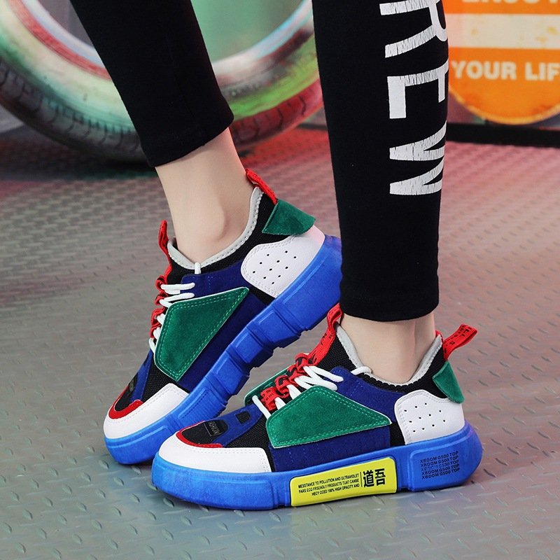 34d0ea7da19 2018 New Spring Summer Women Shoes Ulzzang Breathable Fashion Zapatos Mujer Sneakers  Shoes High Heel Canvas Shoes