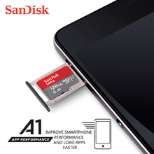 100% Original SanDisk Micro SD Card 64GB 100MB/s 16GB 32GB 128GB 256GB 200GB 400GB U1 Class 10 Memory Card microsd Flash TF Card