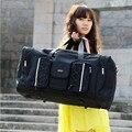 Mulheres Malas de Viagem Grandes Homens Capacidade de Bagagem Duffle Sacos de Viagem Oxford Sacos De Viagem Dobrável Saco De Viagem Da Moda À Prova D' Água Weeke