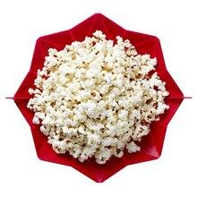 1 Stücke DIY Silikon Mikrowelle Popcorn Maker Eimer Mikrowelle Silikon Popcorn Schüssel Gesunde Snack Kein Öl Fett #45