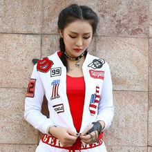 2017 New Fashion hip hop women top dance female Jazz costume performance wear sexy stage clothing wh