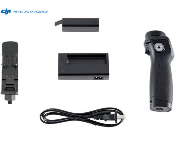 Original DJI Osmo Handle Kit Includes Battery Charger and Phone Holder For OSMO Handheld 4K Gimbal Extra Accessories In Stock