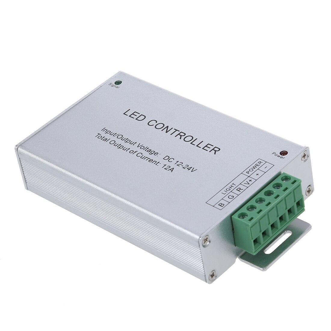 12-24V RGB LED Controller w/ 20 Key RF Remote