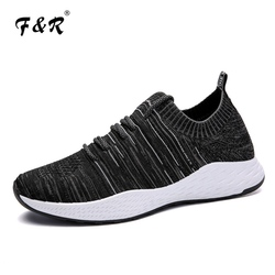 F&R 2018 New Men Running Shoe Ultraboost Mesh Breathable Outdoors Sports Athletic Lightweight Comfortable Walking Sneakers 39-44