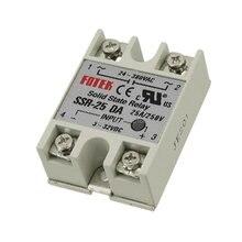 цена на Ssr-25da kontrol suhu AC 24 V - 380 V Output Relay Solid state, 25A SSR-25DA