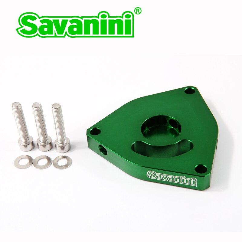 Entretoise BOV Savanini de haute qualité pour moteur Hyundai Genesis coupé et Kia 1.6 t 2.0 t et Honda civic 1.5 T! Alliage d'aluminium!