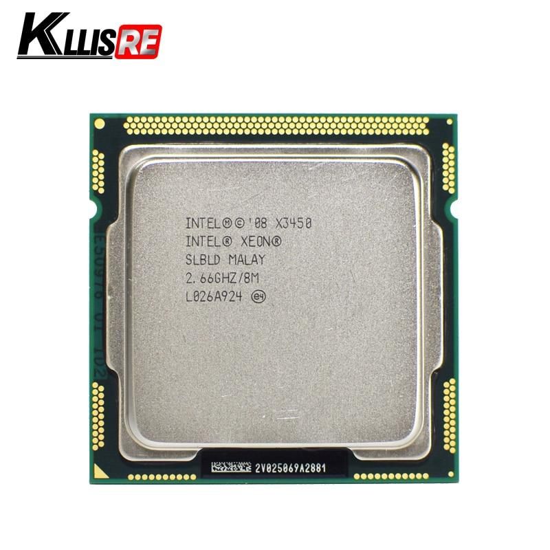 Intel Xeon X3450 4 ядра 2.66 ГГц 8 м 2.5gts slbld разъем LGA1156 Процессор процессор