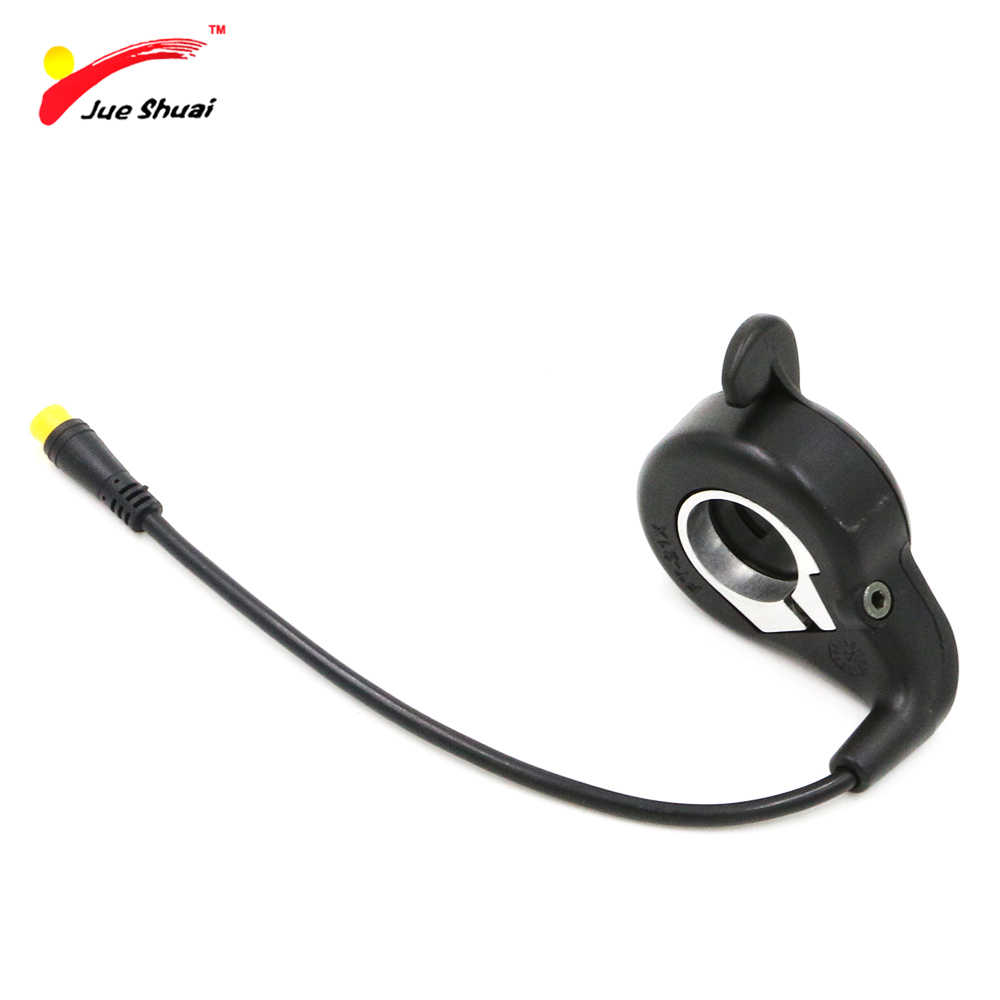 JS 32cm Cable Waterproof Plug Electric Bike Speed Thumb Throttle Shift Wheel Derailleur Deore Hanger Scooter Clip Handlebar Part
