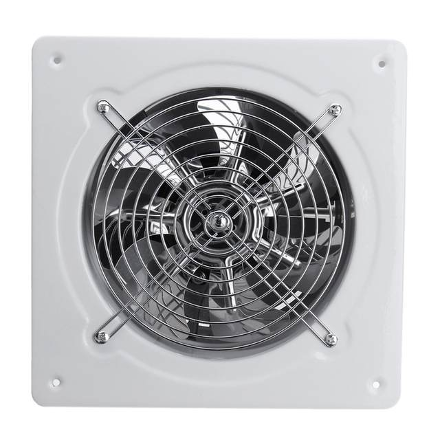 US $12.23 38% OFF|7.48inch Ventilator Extractor Wall Mounted 220V Exhaust  Fan 45WLow Noise Home Bathroom Kitchen Garage Air Vent Ventilation-in Fans  ...