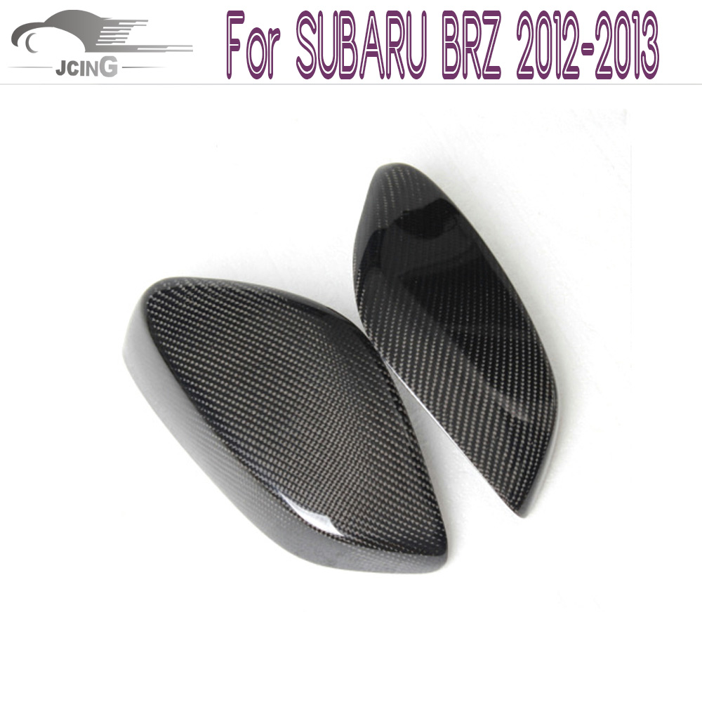 Carbon fiber Side mirror mask auto mirror cap mirror covers for SUBARU BRZ 2012-2013 Add on style Rearview Mirror Caps for ford mustang 2008 2009 2010 2011 2012 2013 add on style carbon fiber rear view mirror cover black finish