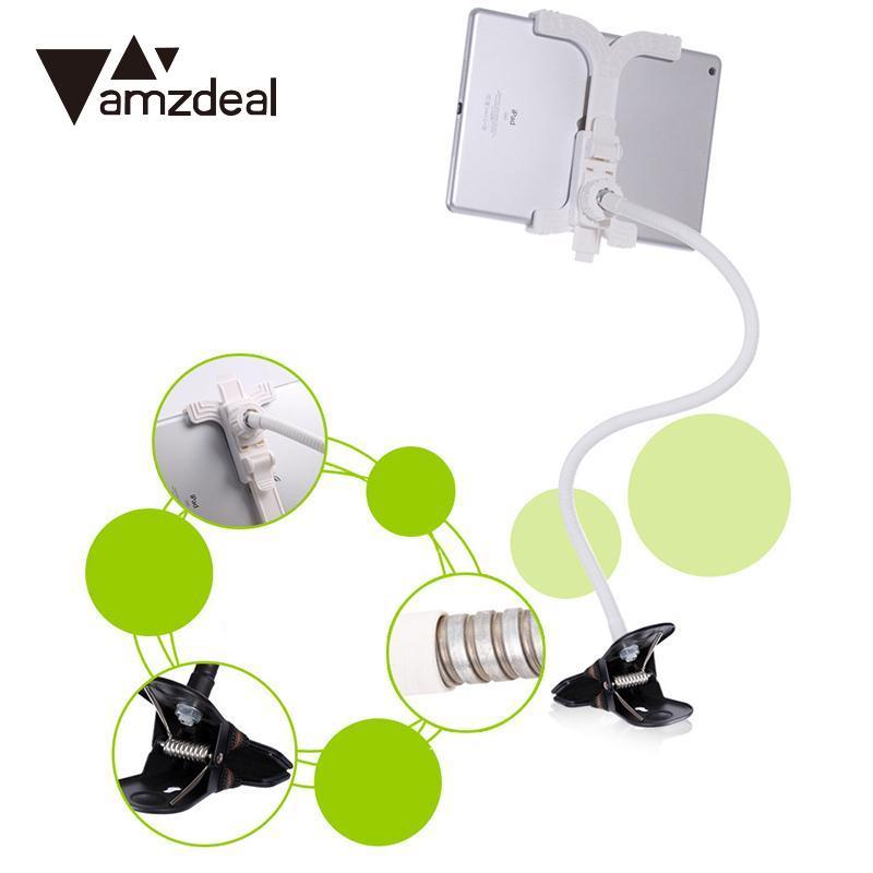 AMZDEAL Lazy People Stent Holder Support Stand Bed Desk 360 Degree Rotation for Mobile phone tablet stand universal