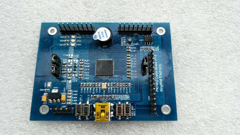 PN7462 Development board/RFID development board/NFC development board pn532 nfc rfid shield module breakout board development board expansion board silver