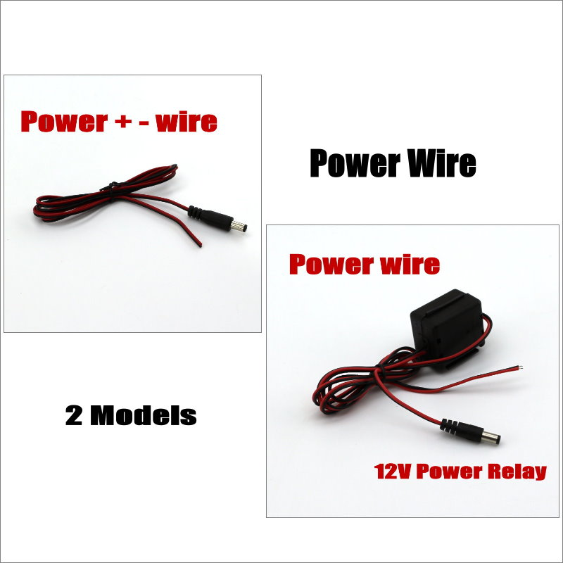Liislee Power Wire For Car Reverse Backup Rear View