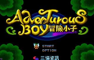Adventures Boy 16 bit SEGA MD Game Card For Sega Mega Drive For Genesis