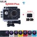 Original SJCAM SJ5000 Plus WiFi 30M Waterproof Sports Action Camera Sj 5000 Plus Cam HD DV With Extra 2 Battery+Dual USB Charger