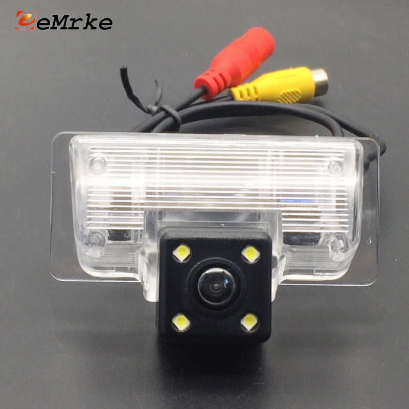 EEMRKE for Nissan Almera G15 Note E12 Pathfinder R51R Sentra B17 CCD HD Car Camera Rearview Backup Camera Reverse Parking Camera