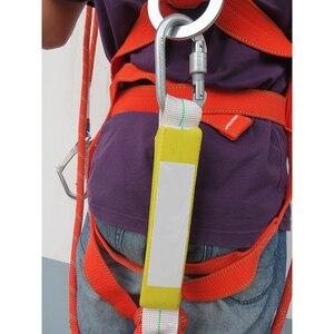 Image 5 - ربط حزام الأمان خمس نقاط كامل الجسم مزدوجة عامل الأمان ل بناء العمل حماية المعدات مع العازلة