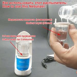 Image 4 - 10 Cups Nebulizer for Children Adult Handheld Nebulizer Inhaler Nebulization Cure Respiratory Tract Diseases
