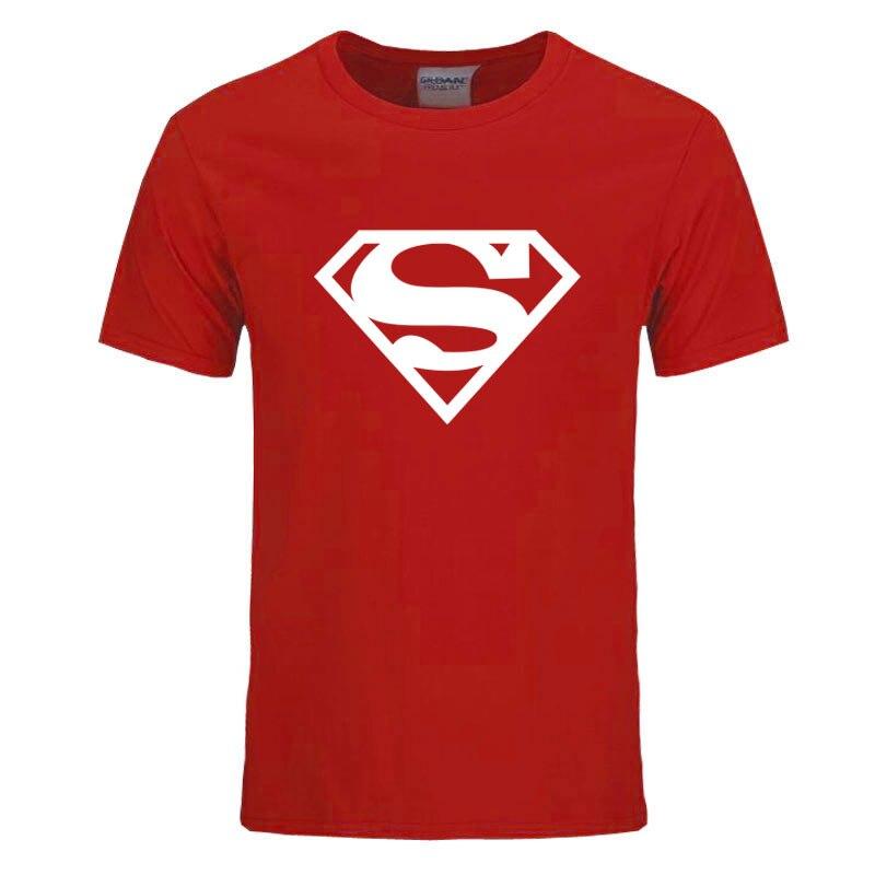a87d0aaed5a Dropwow Workout Clothes Cotton Superman Gyms T Shirts Plus size XS ...