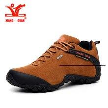 2016 Xiang Guan Original men waterproof trekking shoes woman mountain scarpe treking shoes