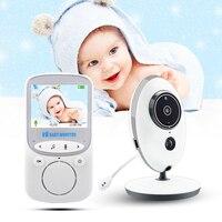 VB605 Wireless Video Baby Monitor 2.4 Inch Color Security Camera Intercom IR 24h Baby Walkie IR LED Portable Baby Camera