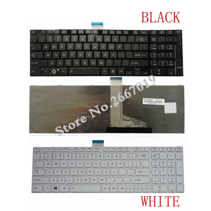 US For Toshiba for Satellite L850 L850D L870 L870D L855 L855D C855 Laptop Keyboard  English
