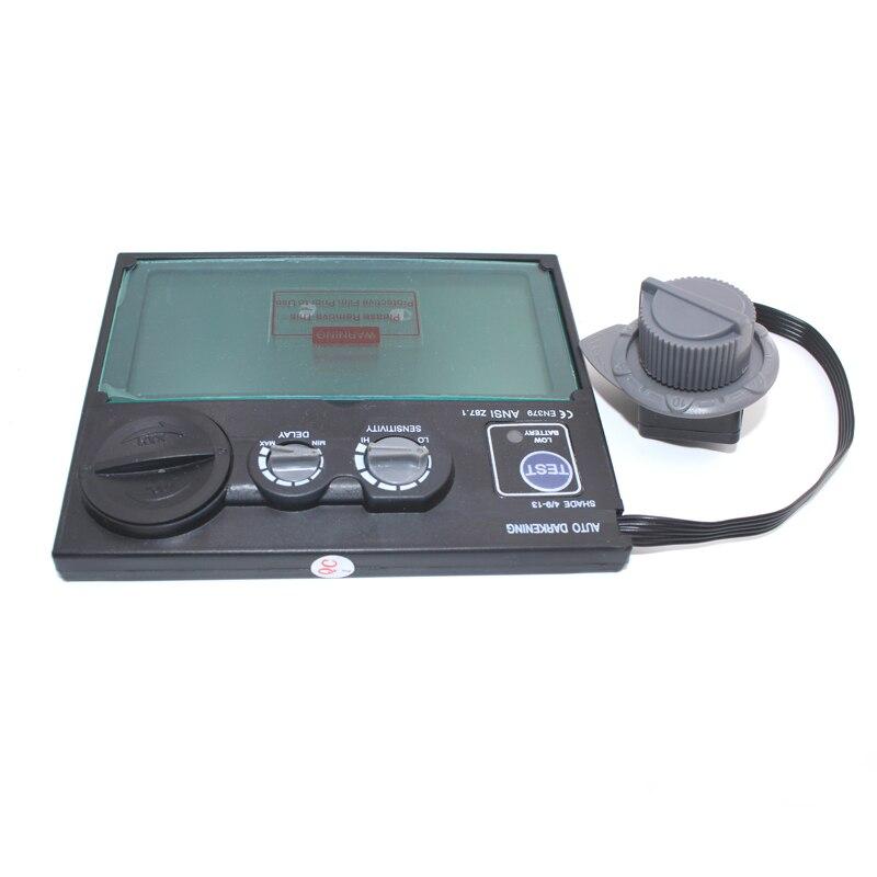 Batteria solare di Fuori del Controllo di Scurimento auto/Ombreggiatura Rettifica Casco di Saldatura/Saldatore Occhiali/Maschera di Saldatura di Filtro/lente