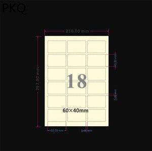 Image 3 - 50 pçs/lote A4 Rótulo Transparente Auto Etiqueta Da Etiqueta Adesiva À Prova D Água PARA ANIMAIS de ESTIMAÇÃO de Imprimir Etiquetas de Endereçamento para Impressoras A Laser