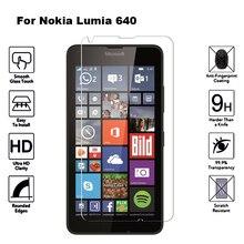 2 шт Стекло для Nokia Lumia 640 5,0 дюйма Защитная пленка для экрана защитное закаленное стекло для microsoft Lumia 640 LTE Dual Sim