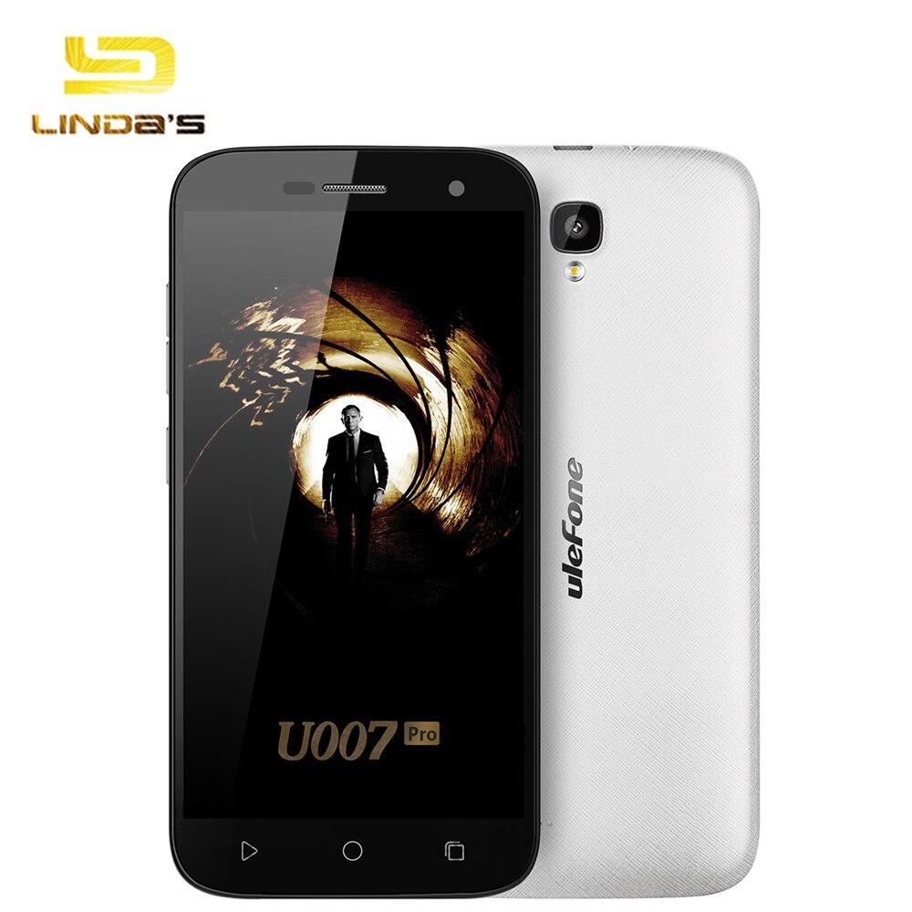 Ulefone U007 Pro MTK6580A Quad Core Cellphone 5.0inch HD Screen Android 6.0 1G RAM 8G ROM Mobile Phone 3G WCDMA Smartphone