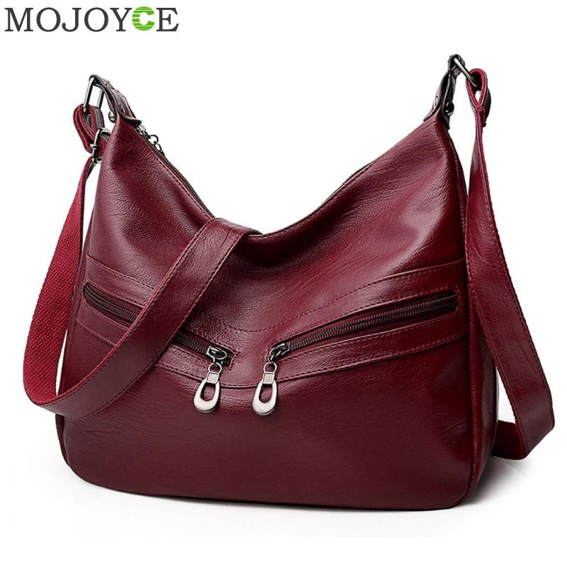 Women Hobos Handbag Brand Fashion Zipper PU Leather Shoulder Bag Elegant Office Ladies Messenger Bag Female Totes Shopping Bags 1 dp672219 672219 672222