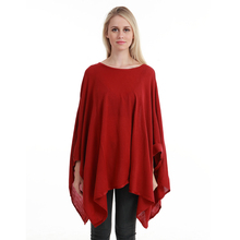 Summer and autumn New Fashionable Women Acrylic Thin Knitpattern Loose Sweater Large Size Sweaters Pullover Poncho