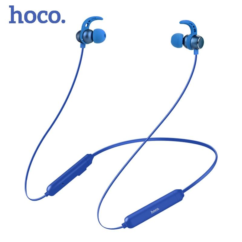 HOCO original IPX5 Sport Bluetooth Headset Running wireless Bluetooth 4.2 Earphone Stereo Headphones Headset For iPhone Samsung zomoea bass earphone earbuds running stereo sport bluetooth headset wireless headphones for iphone android with microphone