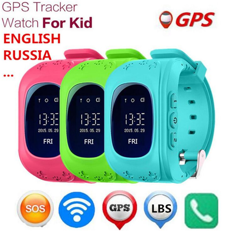 Children GPS font b Kids b font Smart font b Watch b font Wristwatch Q50 GSM