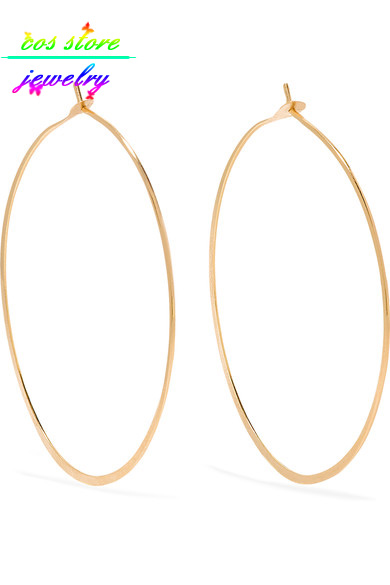 10/12/15 CM Super Sexy Kebesaran Emas / Perak Besar Lingkaran Hoop - Perhiasan fashion - Foto 6