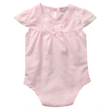 Newborn Infant Baby Girl Clothing Tops Bodysuit Short Sleeve Cute Jumpsuit Toddler Outfits Clothes Baby Girls
