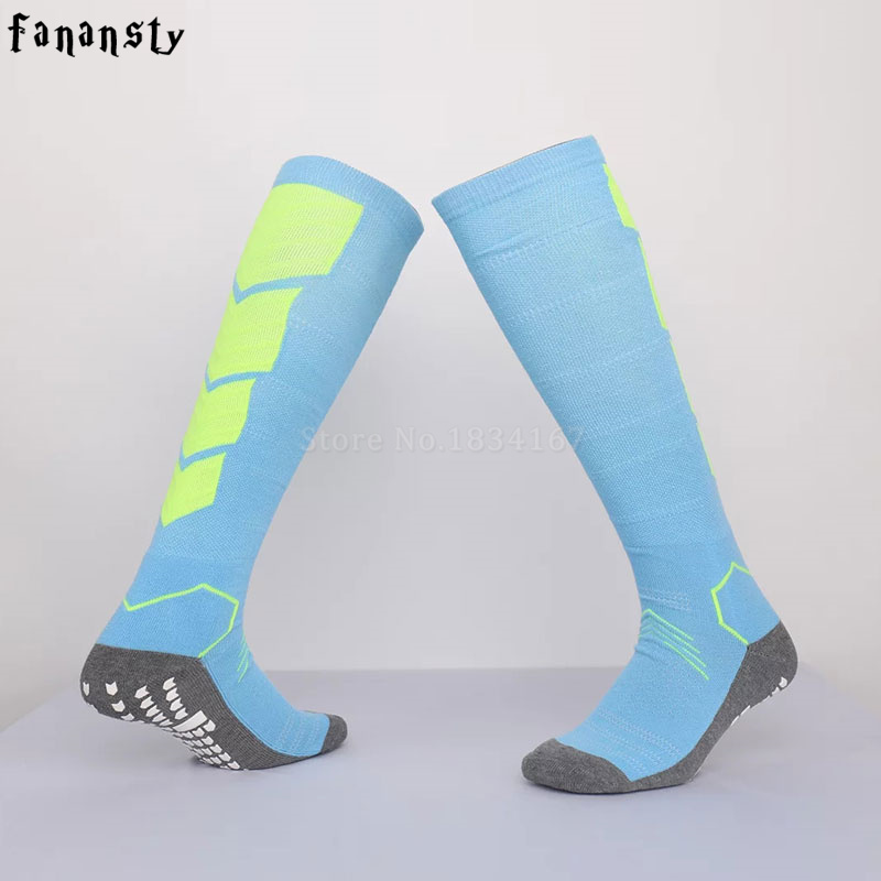 High quality football socks sport soccer socks mens sports durable long adult basketball thickening sox medias de futbol new ...