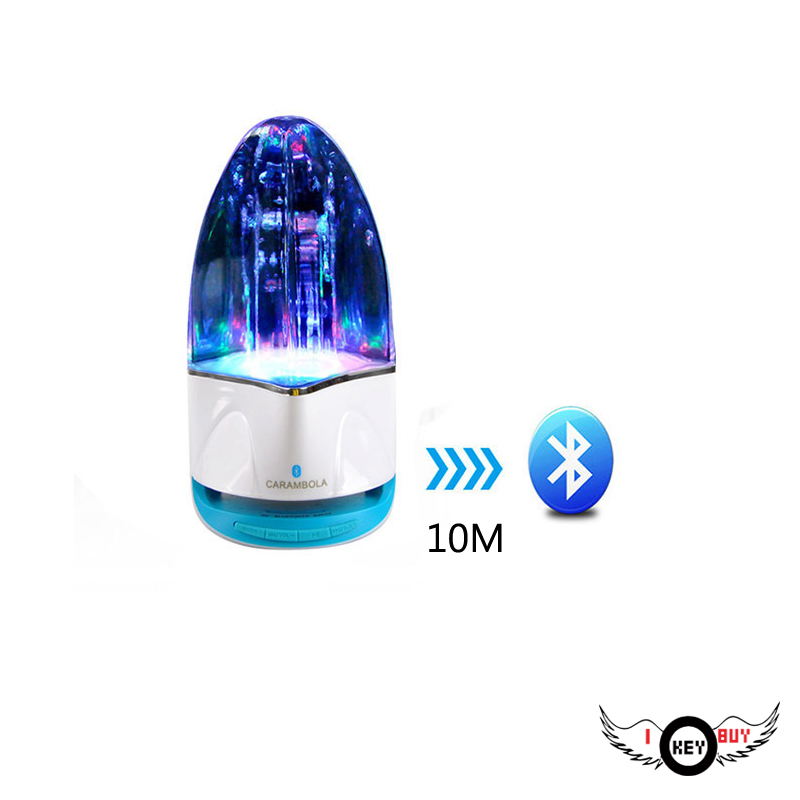 1PC Fountain Card Bluetooth Water Dance Speaker Radio Stereo MP3 MP4 Car TV Computer Games Console With Bluetooth Device image